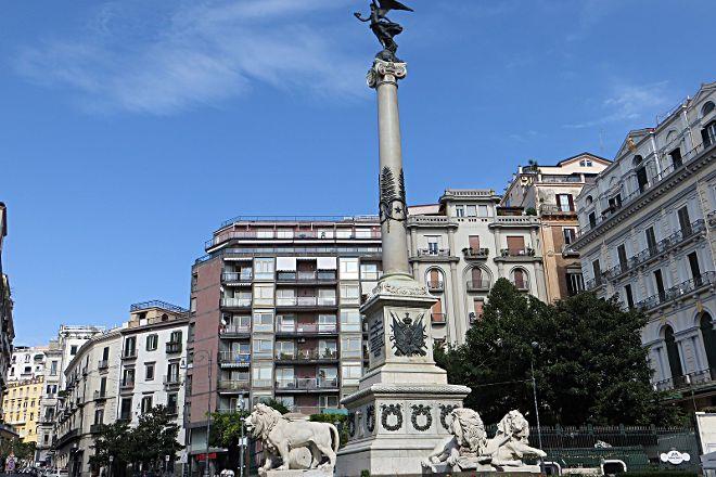 Piazza dei Martiri, Naples, Italy