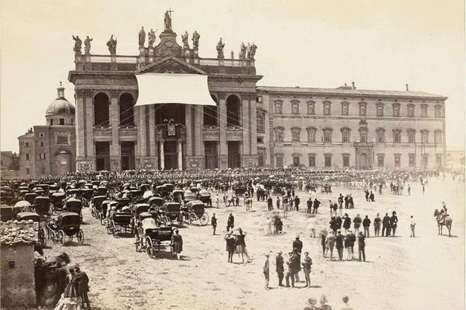 Piazza di San Marco, Rome, Italy