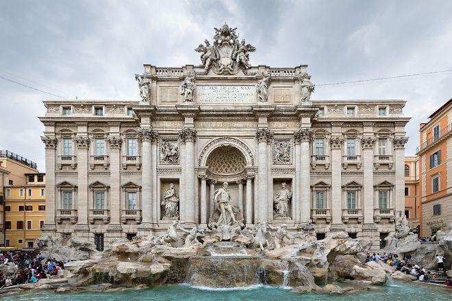 Piazza di Trevi, Rome, Italy