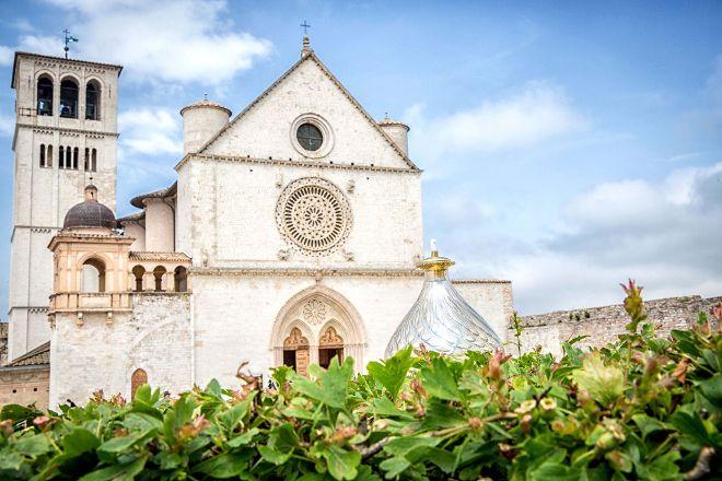 Piazza Superiore di San Francesco, Assisi, Italy