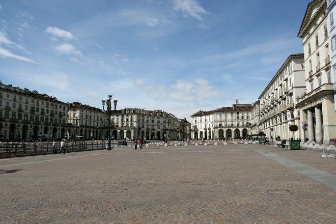 Piazza Vittorio Veneto, Turin, Italy