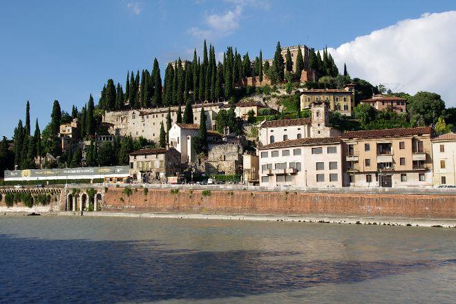 Piazzale Castel San Pietro, Verona, Italy