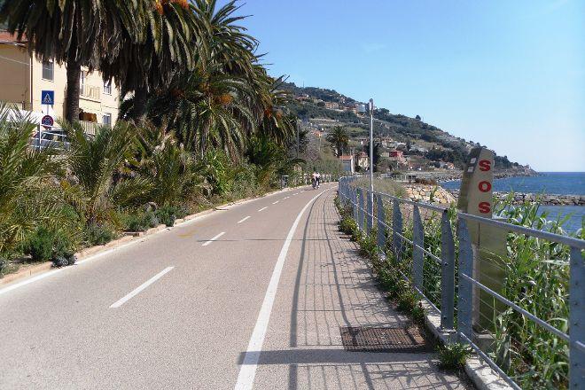 Pista Ciclabile Area 24 - Sanremo, Sanremo, Italy