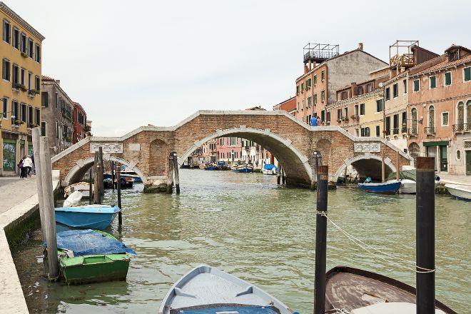 Tre Archi Bridge, Venice, Italy