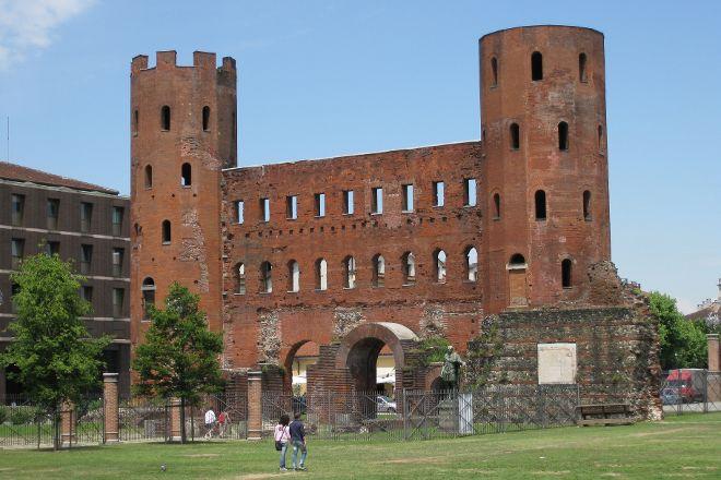 Porta Palatina, Turin, Italy