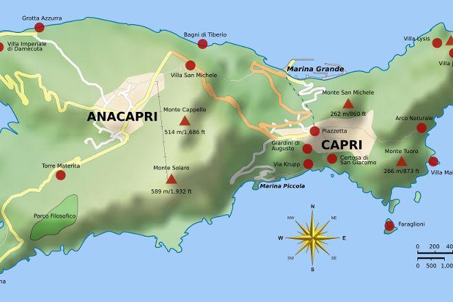 Punta Carena Lighthouse, Anacapri, Italy