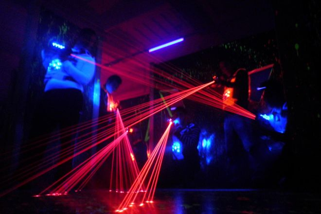 Q-Zar Legnano - Laser Game, Legnano, Italy