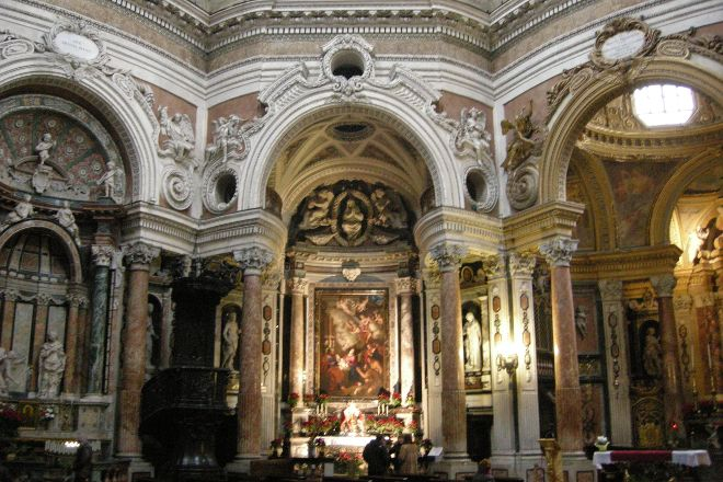 Church of San Lorenzo, Turin, Italy