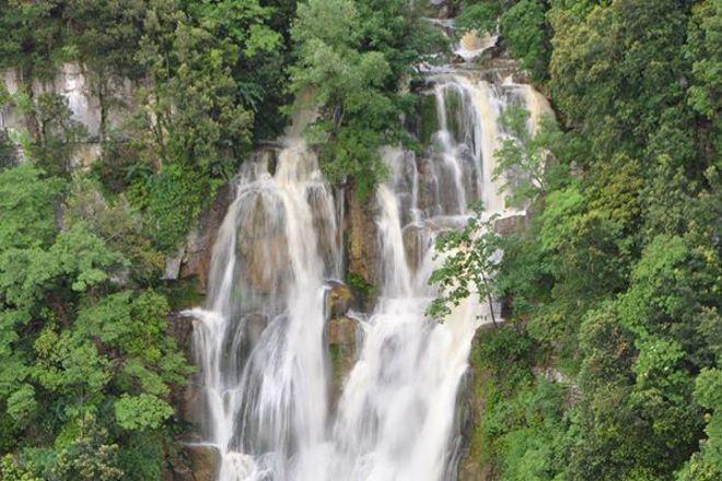 Rio Verde Waterfall, Borrello, Italy