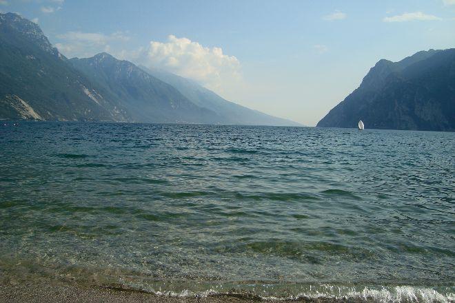 Sabbioni Beach, Riva Del Garda, Italy