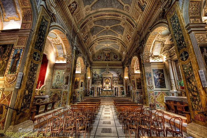 Santuario Madonna dell'Ambro, Montefortino, Italy