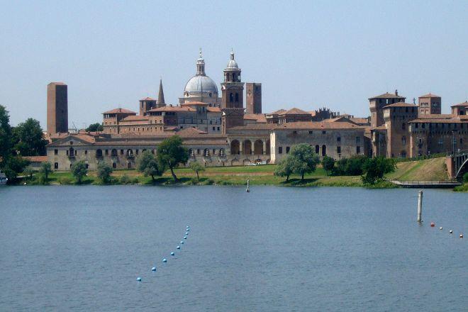 Skyline di Mantova, Mantua, Italy