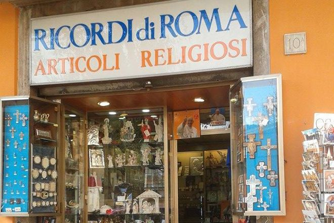 Souvenirs of Rome - Religious Articles, Rome, Italy