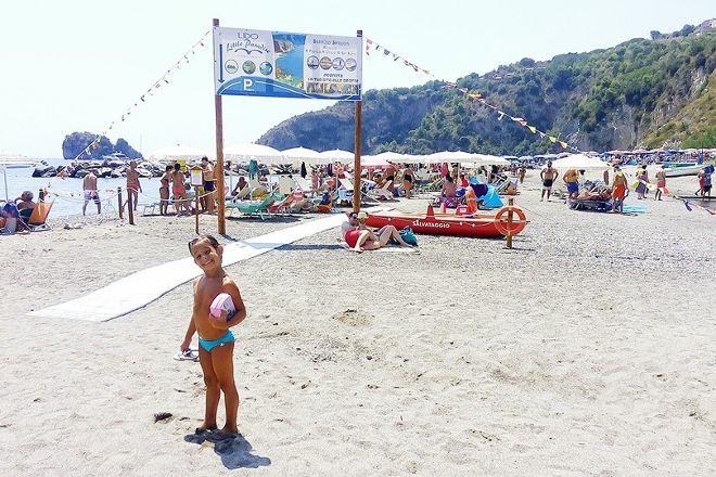 Spiaggia della Marinella, Palinuro, Italy