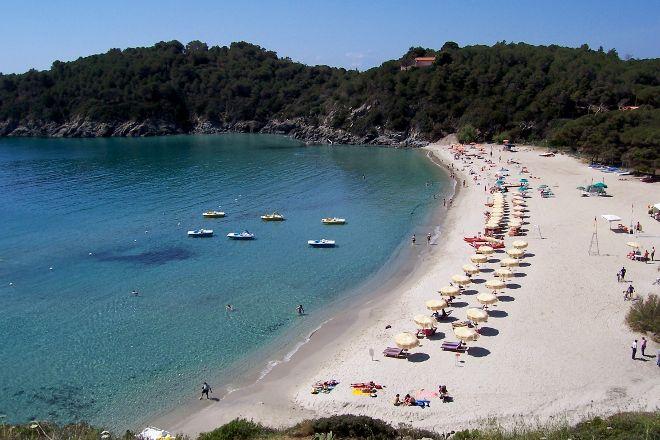 Spiaggia di Fetovaia, Campo nell'Elba, Italy