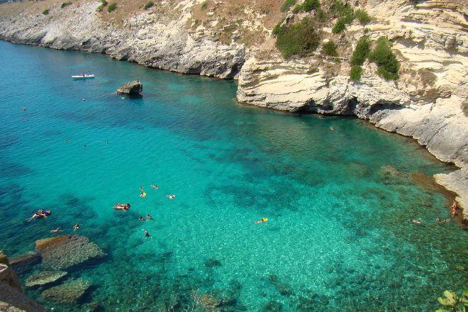 Spiaggia Porto Miggiano, Santa Cesarea Terme, Italy