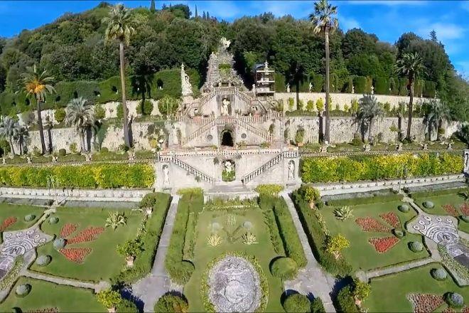 Storico Giardino Garzoni -  Casa delle Farfalle, Collodi, Italy