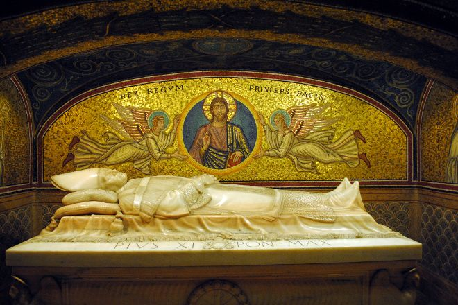 Vatican Grottoes, Vatican City, Italy
