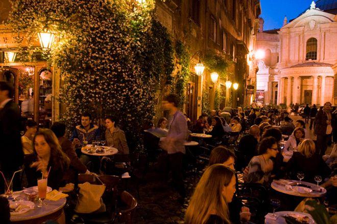 Via della Pace, Rome, Italy