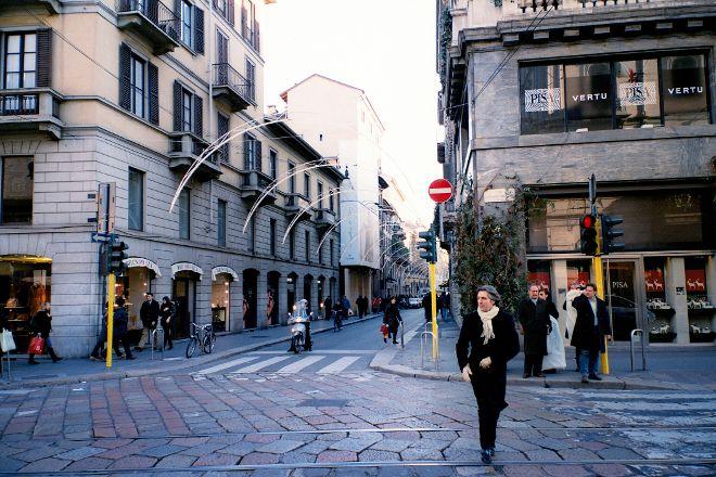 Via Monte Napoleone, Milan, Italy