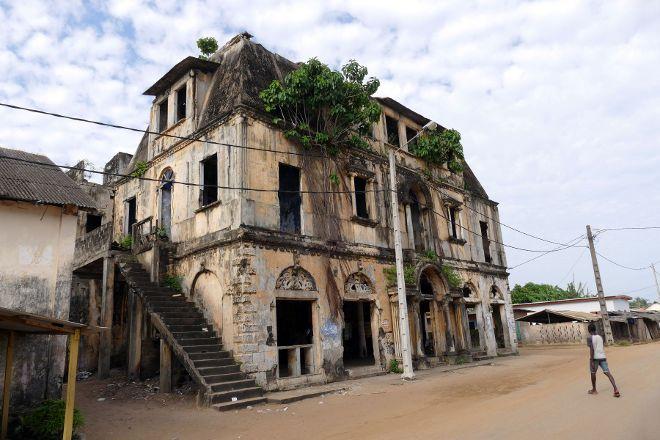 Maison Ganamet, Grand Bassam, Ivory Coast