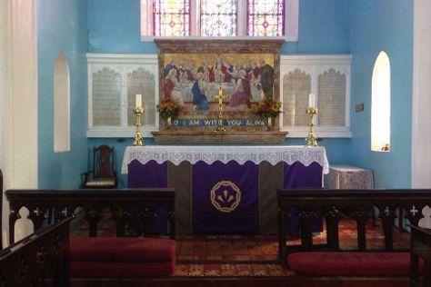 St. Jago De La Vega Cathedral, Spanish Town, Jamaica