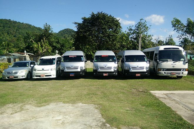 Rocky's Taxi and Tour Services, Negril, Jamaica