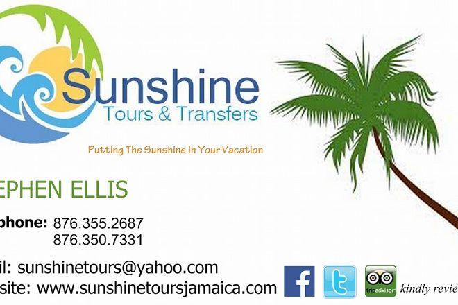 Sunshine Tours and Transfers, Hopewell, Jamaica