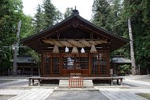 Onbashira, Suwa, Japan
