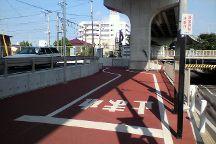 Tsukuba Rinrin Road, Sakuragawa, Japan