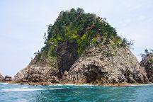 Uradome Seacoast Marine Park, Iwami-cho, Japan