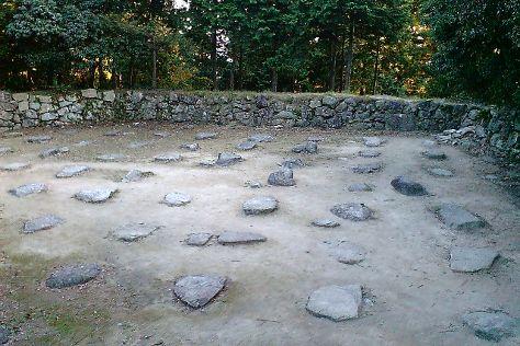 Azuchi Castle Ruins, Omihachiman, Japan