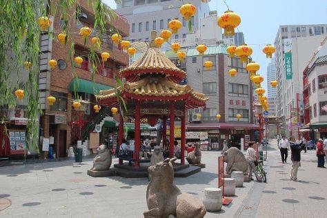 Nankinmachi (Kobe Chinatown), Kobe, Japan