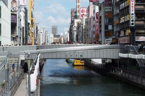 Ebisu Bridge, Dotombori, Japan