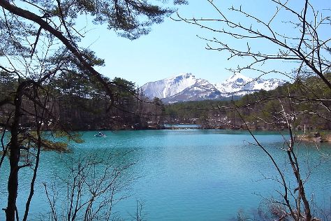 Goshikinuma Lake, Kitashiobara-mura, Japan