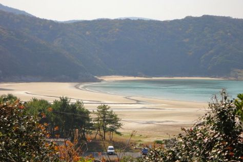 Hamagurihama Beach, Shinkamigoto-cho, Japan