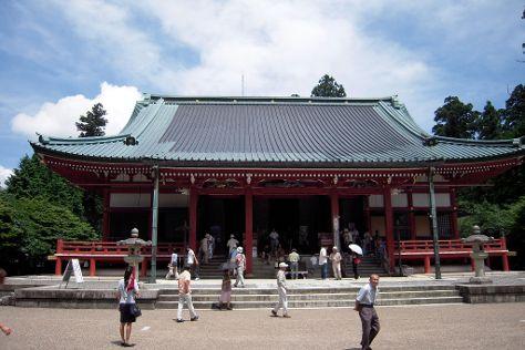 Hieizan Enryaku-ji Temple, Otsu, Japan
