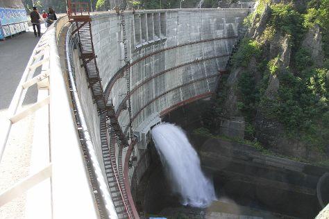 Houheikyou Dam, Minami, Japan
