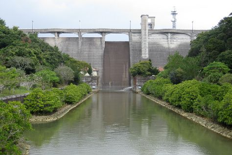 Kanna Dam, Ginoza-son, Japan