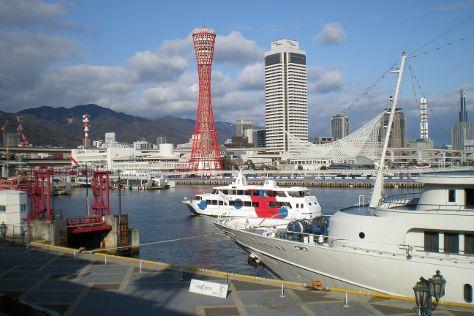 Kobe Harborland, Kobe, Japan