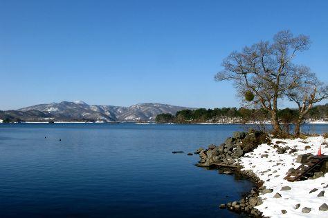Lake Hibara, Kitashiobara-mura, Japan