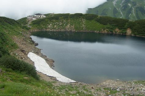 Mikurigaike Pond, Tateyama-machi, Japan