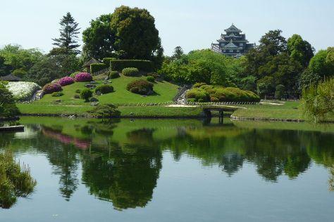 Okayama Korakuen Garden, Okayama, Japan