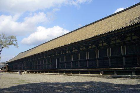 Sanjusangendo Temple, Higashiyama, Japan