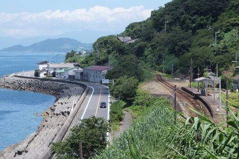 Shimonada Station, Iyo, Japan