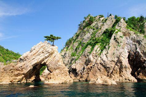 Shirahara Kamogaiso Rocky Shore, Iwami-cho, Japan