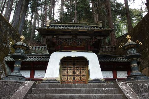 Taiyuimbyo Shrine, Nikko, Japan