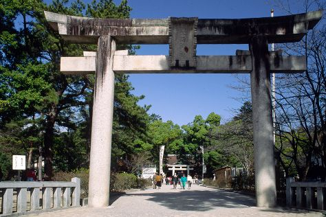 Takeda Shrine, Kofu, Japan