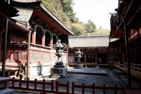 Tanzan Shrine, Sakurai, Japan