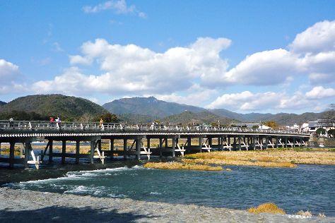 Togetsukyo Bridge, Ukyo, Japan